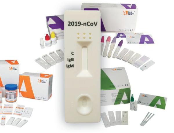 COVID Ab test na przeciwciała